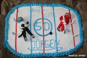 Eishockey-torte