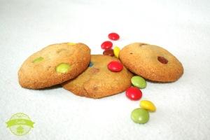 Smarties-Cookies