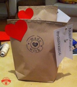 Verpackung Hundeleckerlis