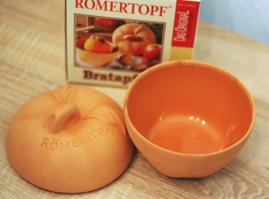 Römertopf-Bratapfel