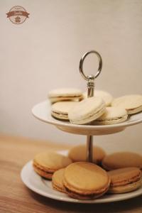 Macarons-Vanille-Kokosschoko
