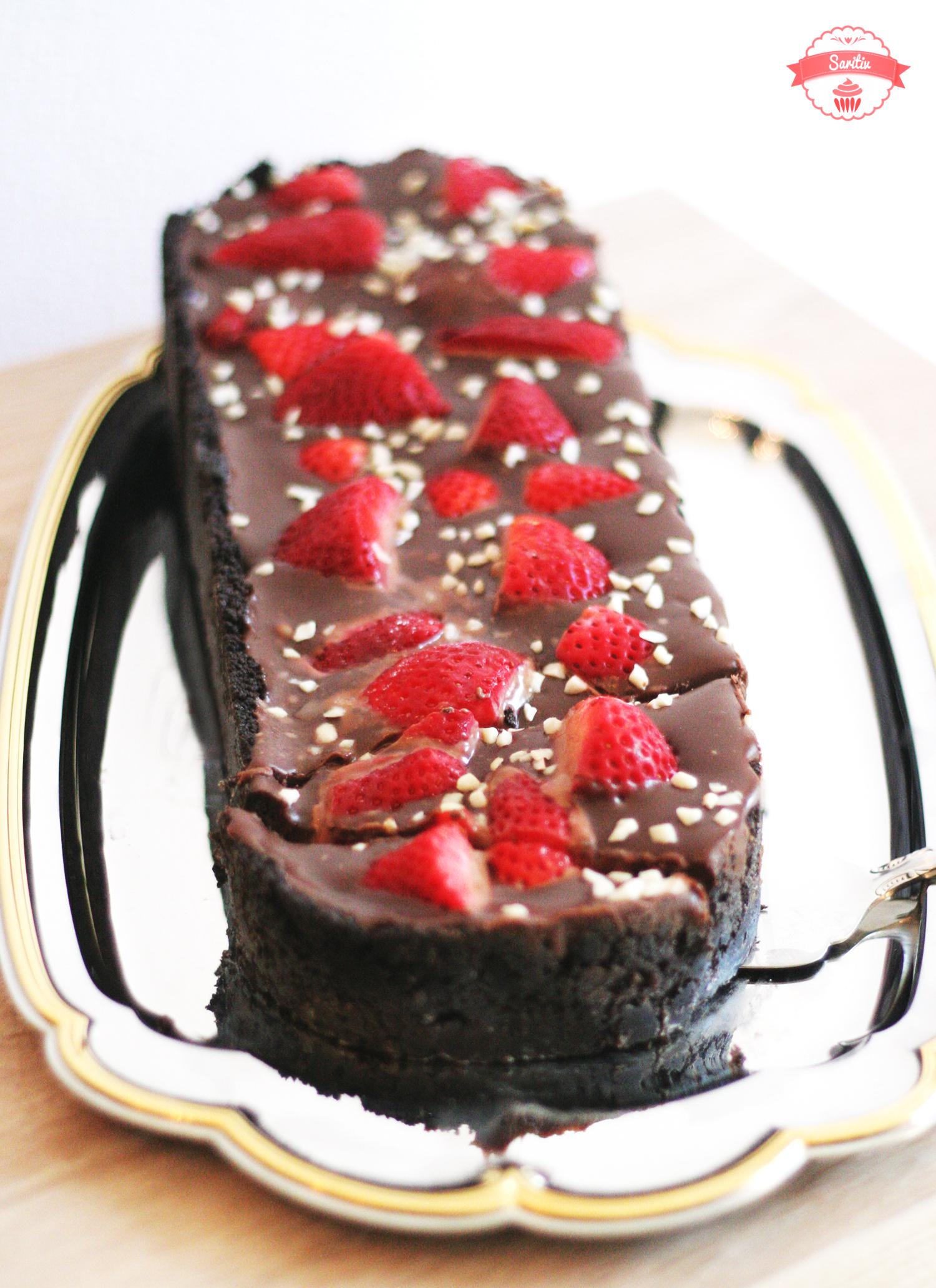 No Bake Erdbeer Schokotraum Saritiv