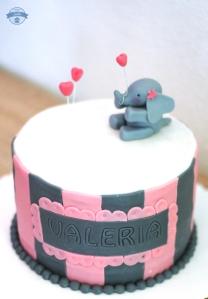 Tauftorte-Elefant