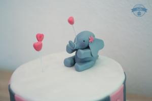 Tauftorte-Elefant2