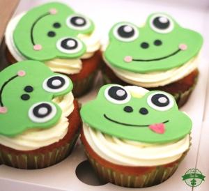 Frosch Cupcakes
