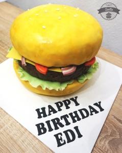 Burger-Torte